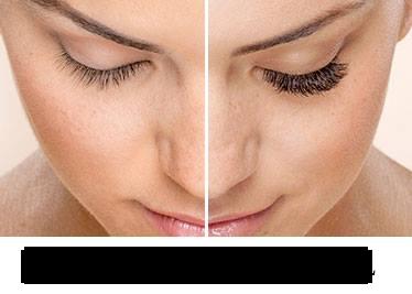 Eyelash Makeup Model